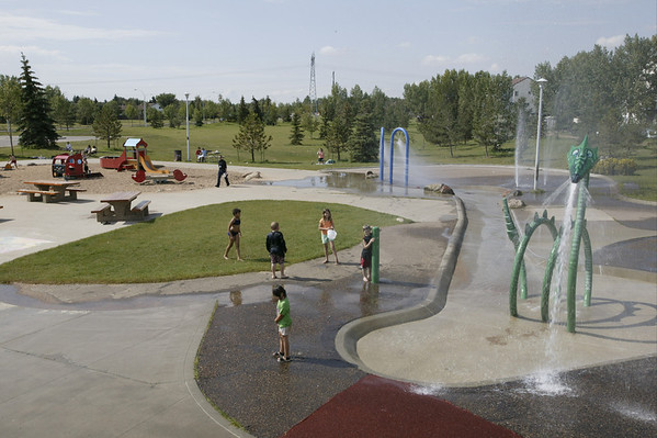 Castle Downs Spray Park & Playground<br /> 2004