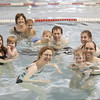 Parent & Tot Swim Lessons<br /> Bonnie Doon Pool<br /> Don Hammond Photography 2008