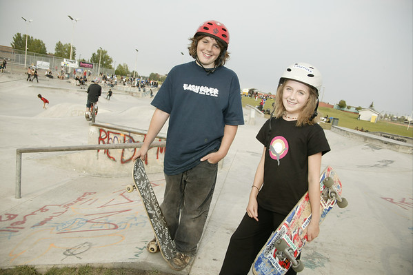 Mill Woods Skatepark 2004