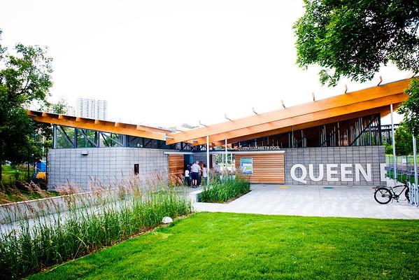 Queen Elizabeth Outdoor Pool