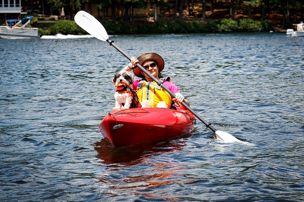 Kayaking Little Ossipee Pond (July 2012)