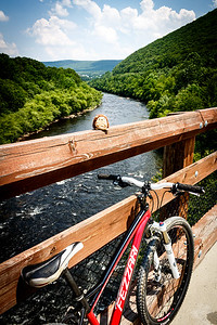 Mountain Biking Lower Gorge Trail (06/24/2013)