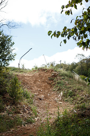 Rake & Ride at Blue Mountain Bike Park (September 2013)