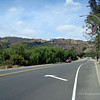Riding north on Brea Canyon Road...