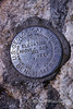 USGS Summit Marker, Grand Teton National Park, Wyoming, USA, North America