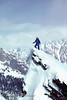 Winter Mountaineering, Climbing on Mount Moran, Grand Teton National Park, Wyoming, USA, North America