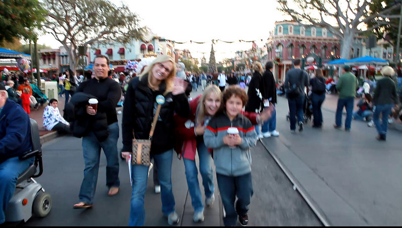 Just leaving Main Street on the way into the park.