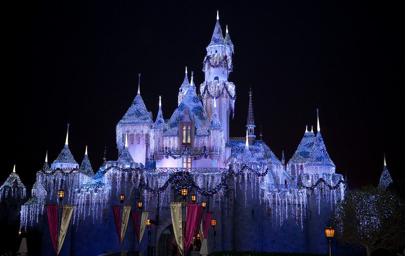 They called this Sleeping Beauties Winter Castle.