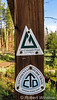 The Continential Divide Trail follows the Colorado Trail for about 300 miles.