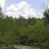 Blue Sky over Rocky Bluff<br /> Honey Creek Loop Hike<br /> Big South Fork Recreation Area<br /> Scott County, TN