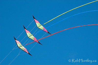 Stunt kite at the 2011 Windscape Kite Festival in Swift Current, Saskatchewan.