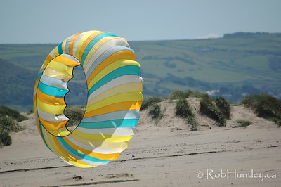 Ball kite at the 2007 Barmouth Kite Festival, Barmouth, Wales, UK. © Rob Huntley