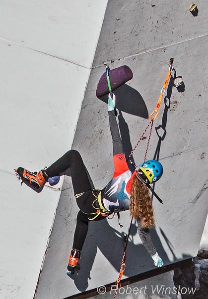 Catalina Shirley, Ouray Ice Festival, 2020, Ouray, Colorado, USA, North America