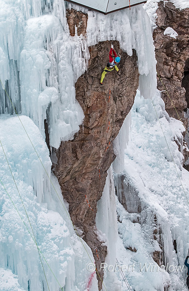 Liam Foster, 2020 Ouray Ice Festival, Ouray, Colorado, USA, North America