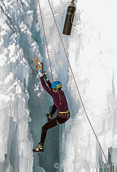 Catalina Shirley, Speed Climbing, 2020 Ouray Ice Festival, Ouray, Colorado, USA, North America