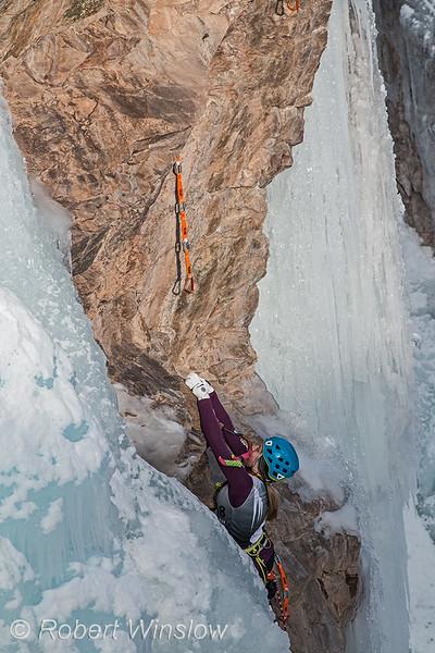 Katie Seymour, Ouray Ice Festival, 2020, Ouray, Colorado, USA, North America
