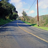 Old Fullerton Road, uphill...