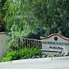 Hacienda Golf Club entrance...