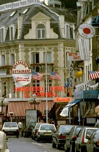 Trouville Street Scene