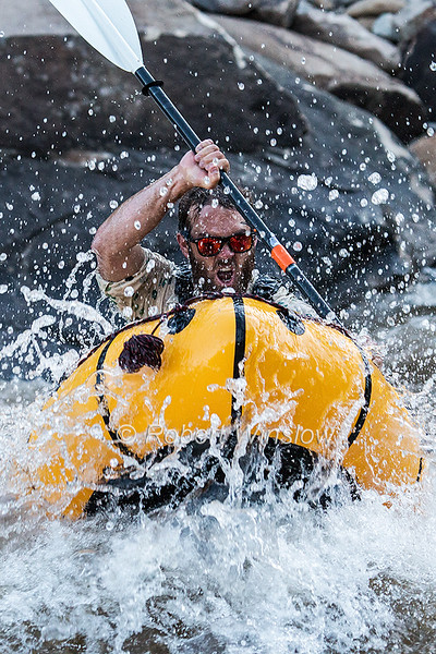 Animas River Days, Animas River, Smelter Rapid, Durango, Colorado, USA, North America