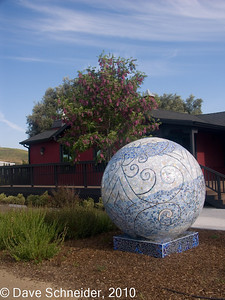 Clautiere Vineyards. Most interesting exterior award!
