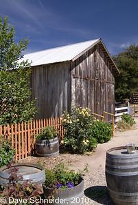 Foxen Vineyards still taste in a barn