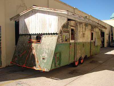 Trailer with Roof