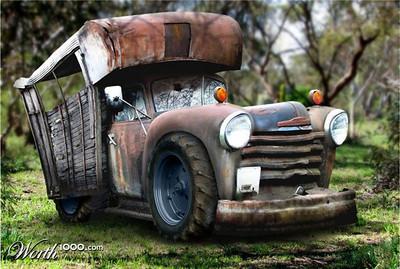 Erv Hunt Images Photo Keywords Rusty Camper