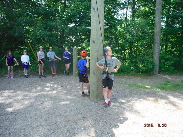 2015 06.30 Rock N Ropes Camp B - Day 2 1