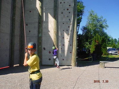 2015 07.20 NLRI Rock N Ropes Camp - Day 1 3
