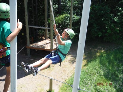 2015 07.20 NLRI Rock N Ropes Camp - Day 1 6
