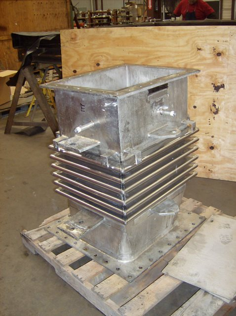 "Refurbished 36"" Rectangular Metal Expansion Joint (#94062 - 12/05/2007)"