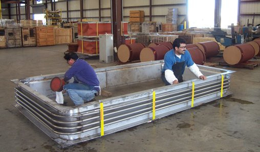 "71""x143"" Rectangular Expansion Joint (01/04/2002)"