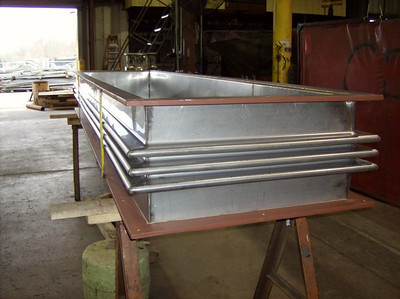 "84"" Long Rectangular Metallic Expansion Joint (Ref#96913 - 07/16/2008)"