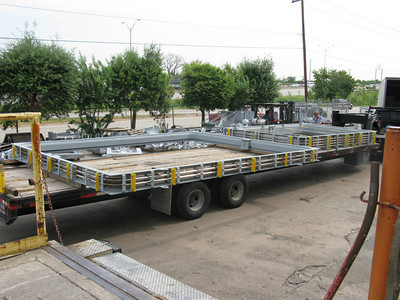 Rectangular metal expansion joints ready for shipment