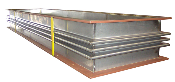 "84"" Long Rectangular Metallic Expansion Joint (#96913 - 07/16/2008)"