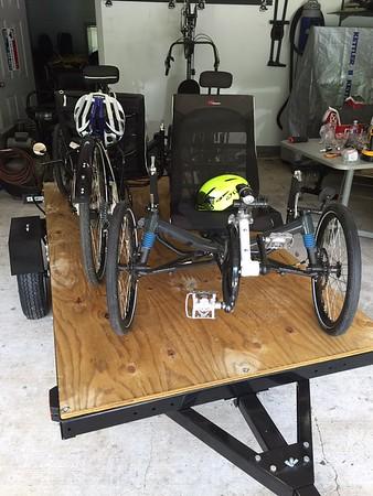 Recumbent Bike Trailer