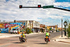 Southern Tier riders in Alpine, Texas - C3-0152 - 72 ppi