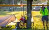 ACA - TransAm - Kansas - Breaking camp in Chanute - C1-0086 - 72 ppi