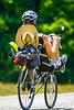Recumbent rider in Bicycle Ride Across Georgia