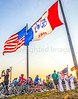 Ragbrai 2014 - Leaving Rock Valley, Iowa, in early morning - D1-C2-0503 - 72 ppi-2