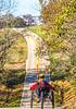 Touring triker on TransAm between the Mississippi River & Farmington, MO-30006 - 72 ppi-2