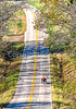 Touring triker on TransAm between the Mississippi River & Farmington, MO-30012 - 72 ppi-2