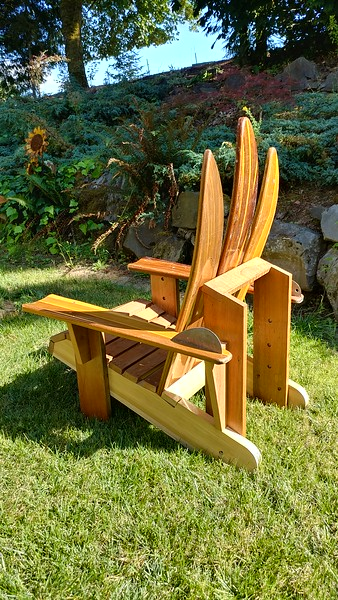 Water Ski Adirondack chair