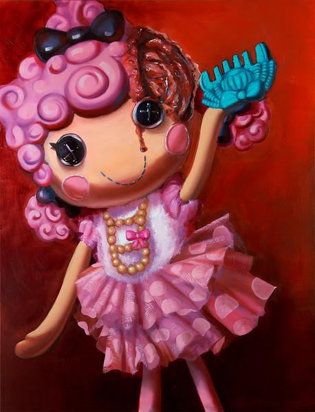 """Perpetuum"" (oil on canvas) by Krystal Johnson"