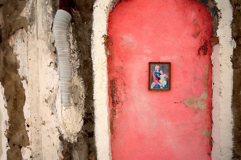 """Broken Wall, Murano"" (pigment inkjet print) by James Luciana"
