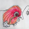 """""""Hybrid"""" (pencil, acrylic and digital) by Disha Pawar"""