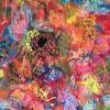 """""""Transcending Chaos"""" (wet felt) by Beth Sanders"""