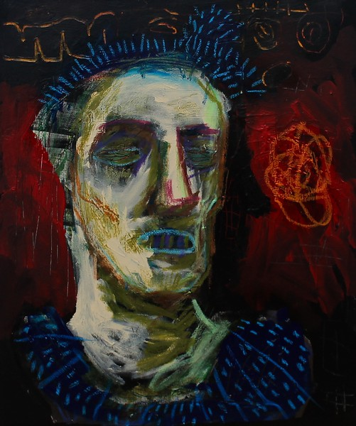 """Old Man"" (mixed media) by William Taylor"