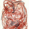 """Mother and child"" (sanguine on paper) by Margo Sarkisova"